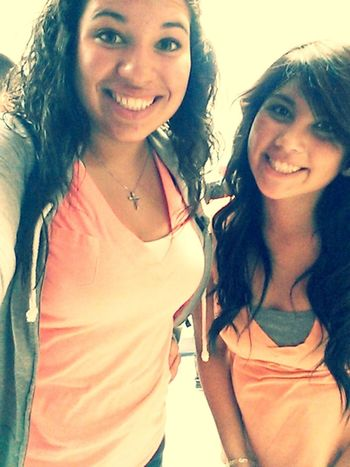She's a super good friend. Always there when I need someone to talk to!♥