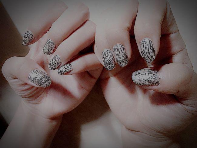 Nailart  Nailarts Hand Nails Nailpolish DIY NailArtStamping China Glaze MyNails  Nailartaddict