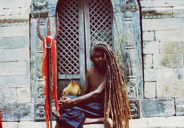 Nepal Travel Photography Patan Durbar Square Sadhu