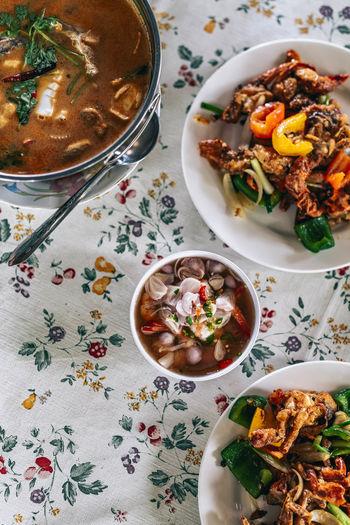 Thai lunch in