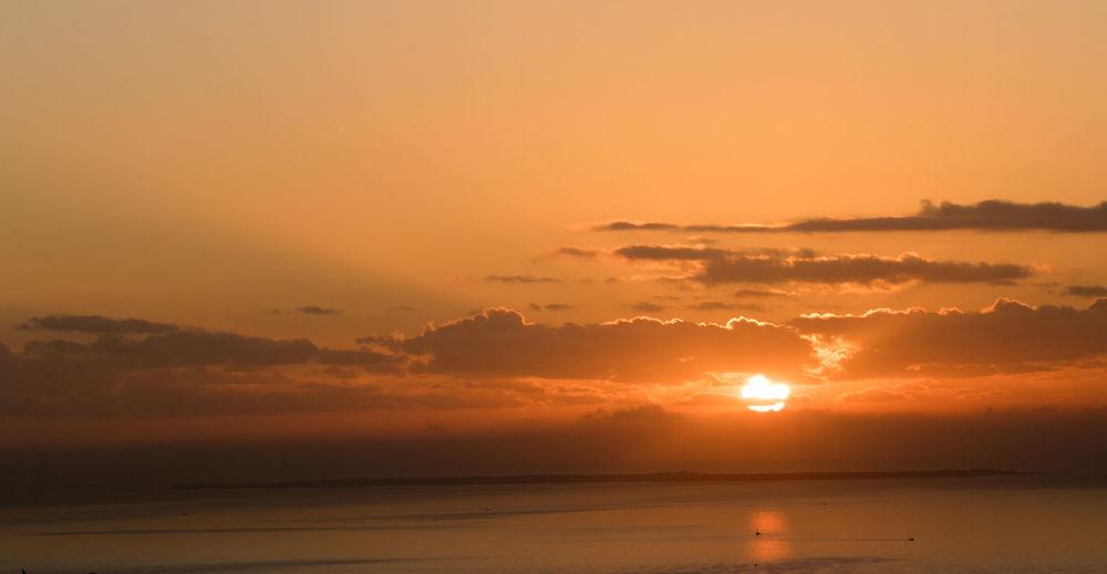 The sunshine from my varanda in Maputo. EyeEmNewHere Beauty In Nature Cloud - Sky Great Sunshine Horizon Horizon Over Water Idyllic Nature No People Outdoors Scenics - Nature Sea Sky Sunny Day Tranquil Scene Tranquility Water