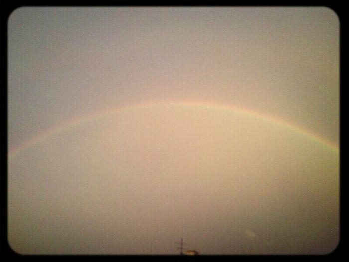 Hannover Today Rainbow Sky