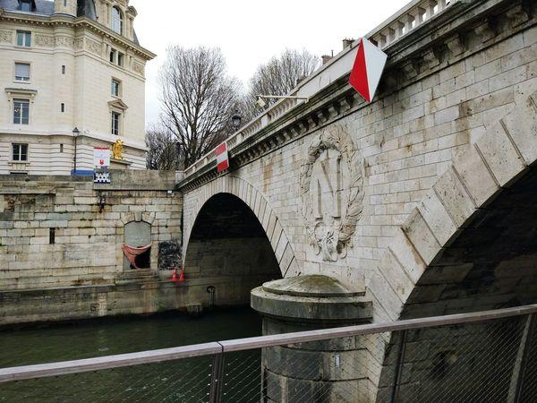 Architecture Built Structure Building Exterior Patriotism Flag Bridge - Man Made Structure History No People Water Day City Sky Outdoors Paris Napoleon Bonaparte