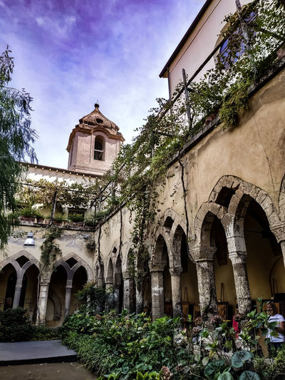 Garden Church Nature Nature_collection Nature Photography Photography Photo Sorrento Italy Campania Light Lights View Stunning Streetphotography Shadows & Lights Point Of View Photographer Religion History Arch Window Sky Architecture Building Exterior Built Structure The Past Historic Building Historic