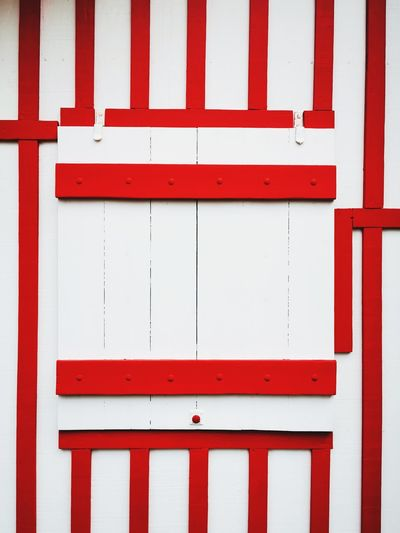 Red square Red Close-up Architecture Hinge Locked Shutter Closed Corrugated Closed Door Lock Corrugated Iron Sheet Metal Fire Alarm Latch Love Lock Safe Entry Padlock Door Knocker Keyhole Peeling Off Doorknob Door