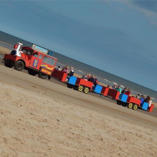 Sand Train at Mablethorpe beach Transportation Multi Colored Land Vehicle Mode Of Transport Variation Blue Ideas Adventure Vacations Sky Vehicle Outdoors Toy Car Scenics Extreme Sports Sea Mablethorpe Beach Tourist Calm Camera AspiringPhotographer Nikonphotography IPhoneography