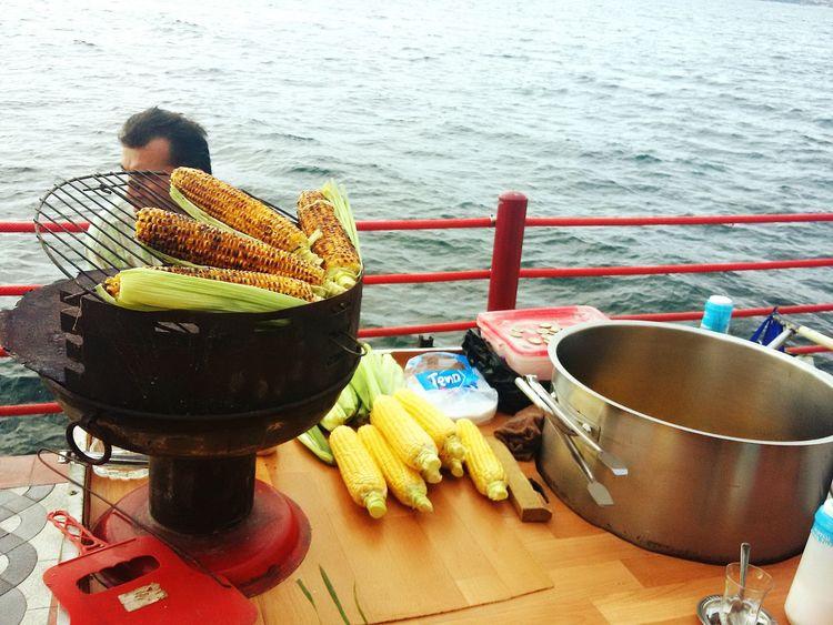 Turkey End Of Summer Popcorn Degirmendere Seaside Sea