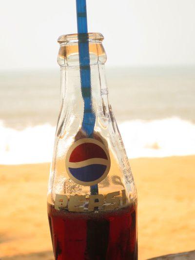 Having a Pepsi at Cola Beach . Being A Beach Bum Life Is A Beach