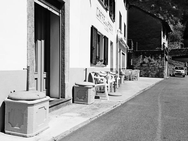 Architecture Black & White Blackandwhite Building Building Exterior Built Structure Dangio High Contrast Light And Shadow Monochrome Residential Building Residential Structure Restaurant Swiss Alps Swiss Mountains Switzerland Ticino Valle Di Blenio The Architect - 2016 EyeEm Awards