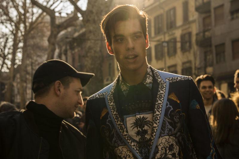 D&G Milano Dolce & Gabbana Milanofashionweek Streetphotography Streetstyle