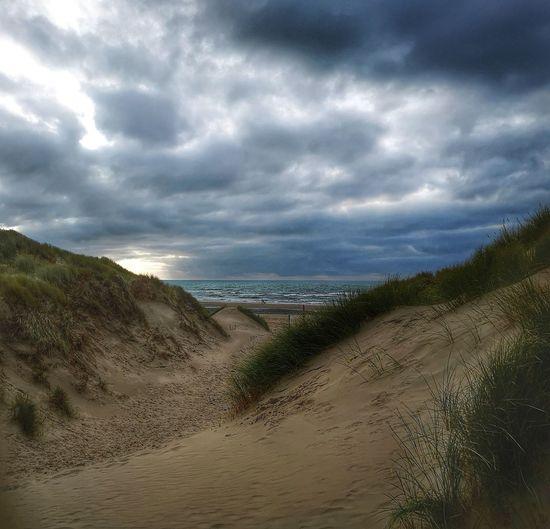 Water Sand Dune