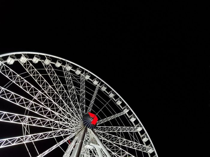 Gaint Wheel City View Hawk Eye Night Light Rotator Amusement Park Amusement Park At Night Amusement Park Ride Giant Wheel Night View Night View Of City Night View Of Downtown Outdoors Sky Illuminated Night