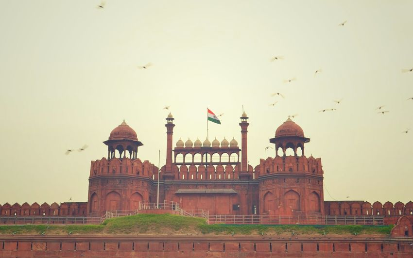 Here Belongs To Me Redfort Heritage Old Delhi Love Emotion Proud Amazing Architecture