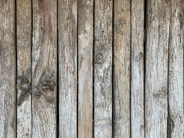 Wood - Material Textured  Backgrounds Full Frame No People Pattern Close-up Day Old Outdoors Barrier Weathered Plank Boundary Fence Natural Pattern Security Rough Wood Brown Wood Grain Textured Effect