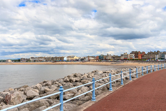 Morecambe Seafront Morecambe Bay  Promenade Architecture Beach Beauty In Nature Building Exterior Built Structure City Cloud - Sky Day Morecambe Nature No People Outdoors Sea Sky Water