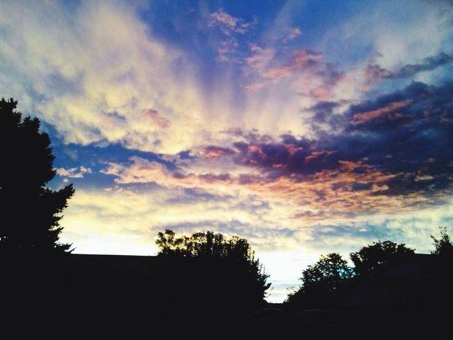 Gods Gift Clouds And Sky Sunrise Sunrays! :)