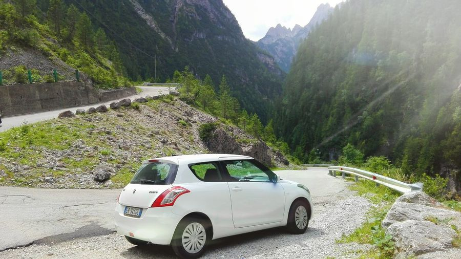 Swift&drive Car Suzuki Mountain Swift Japan Car Mountains Veneto Italia Valvisdende