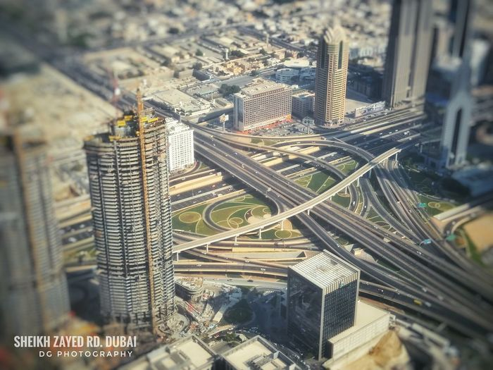 Shiekh Zayed Road Layout Landscape Infrastructure Infrared Photography Dubai Dubai❤ Burj Khalifa, Dubai