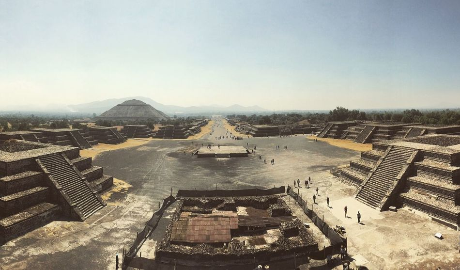 Teotihuacán Pyramids Teotihuacan Astecas Architecture Building Exterior Construction Construções Mexico Historical Building Historic History Past