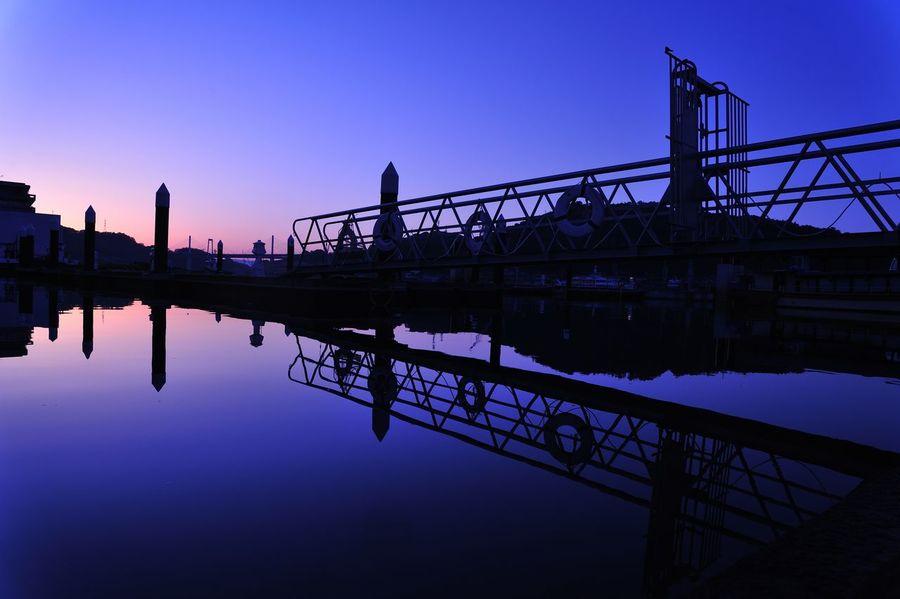 Onomichi Daybreak Dawn Sky Sea EyeEm Best Shots Reflection 尾道 海の駅 夜明け 夜明け前 しまなみ しまなみ海道 リフレクション Hiroshima Japan