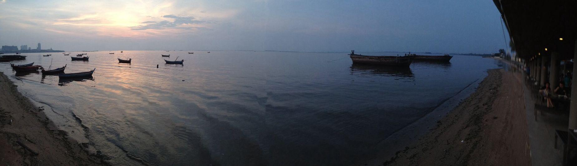 Sk y l i n e . Sky Sea Panorama Nature