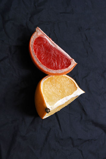 citrus fruit Citrus Fruit City Flu Lemon Orange Red Red Citrus SLICE Texture Vitamin C Yellow