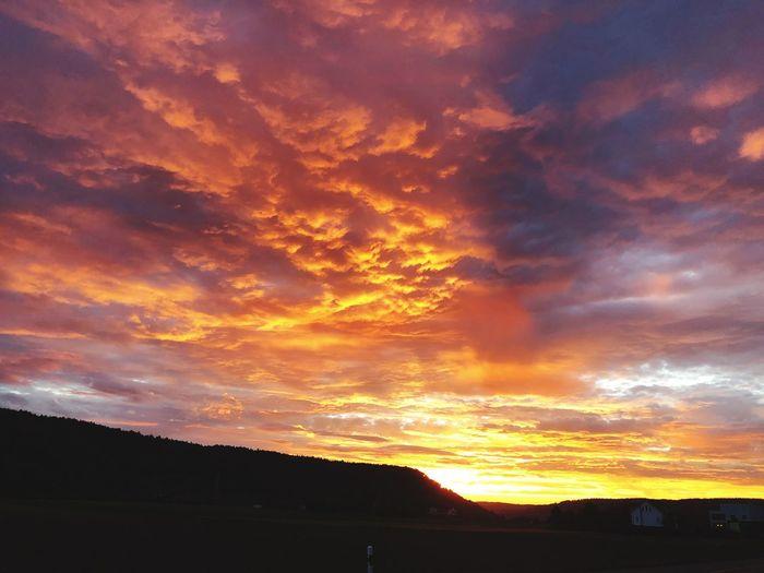 Brennen des Himmels Beauty In Nature