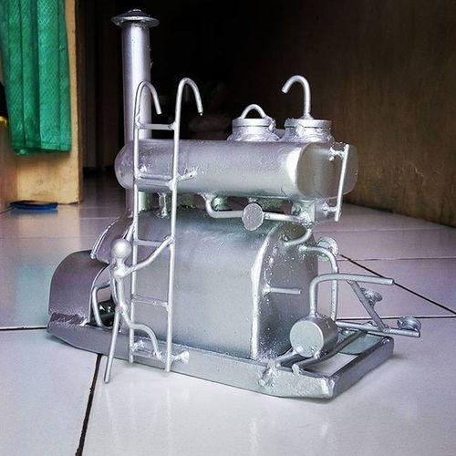 Miniatur HotOilHeater Kreatif RajinNgumpulinSampah
