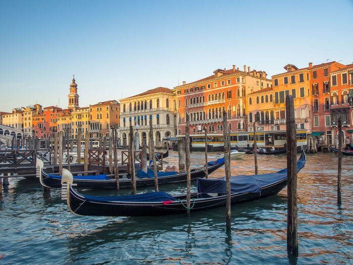 Architecture Boat Canal Gondola Travel Destinations Water
