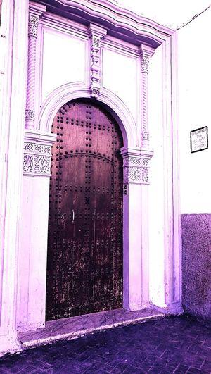 Built Structure Door Architecture Old Door Old Door With History Rabat Morocco