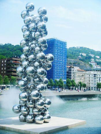 Bilbao Basque Country SPAIN Art Architecture Modern Art Monument Photography Ria De Bilbao Guggenheim Bilbao Bizkaia Euskorincones Tourism