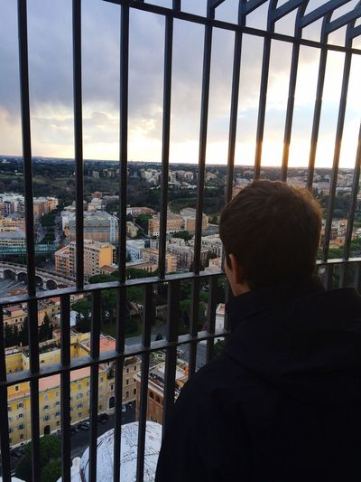 Boy Photography Basilica Sanpeter Holiday Culture Nature Cupola Heights Sunset Sun View House Rome Italy Trees Afternoon Rain Rainy Days Coulds And Sky Colors Panorama Beautiful City Photo