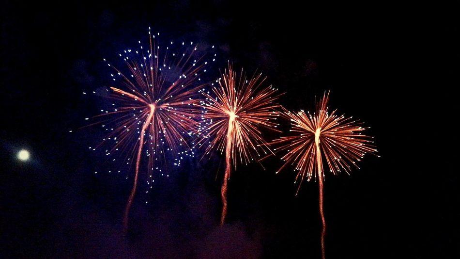 Wielka Parada Smoków w Krakowie. Widowisko na Wiśle. Fireworks Fajerwerki Wisla Cracow Krakowpoland Krakow Paradasmokow