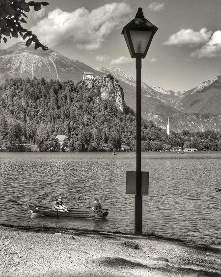 Slovenia ❤ Slovenia Streetphotography Iloveslovenia Bled Bledlake Boat Lamp Streetlamp