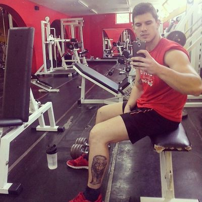 Workout Falanga Wolf Tattoo