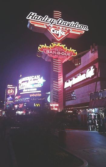 ~ Harley Davidson Cafe, The Strip, Las Vegas