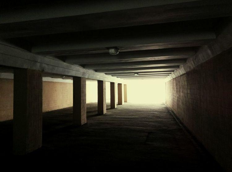 Architecture No People Tonnel Cinematic Industrial Minimal Retrofuture EyeEmNewHere Urban Geometry