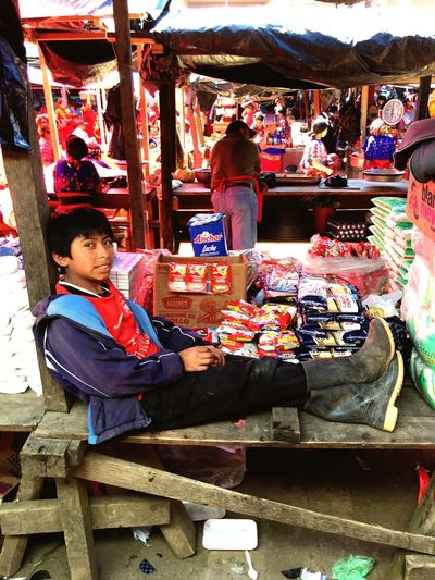 Market day in Chajul, Guatemala …