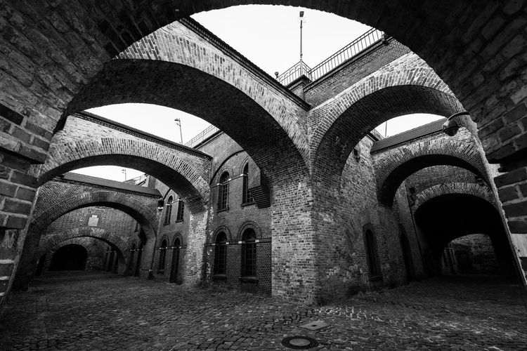 Arches Shadows & Lights Arch Arches Architecture Blackandwhite Built Structure No People Shadows