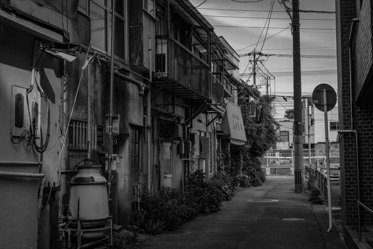 Japan Architecture Building Exterior Built Structure Cable Day House No People Outdoors Residential Building Sky The Way Forward