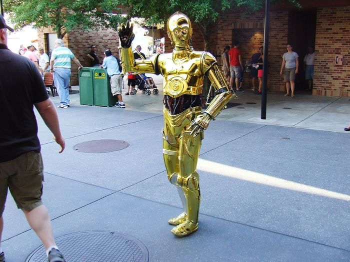 C3po Disney World People Hello There!