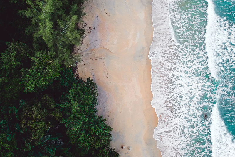 Dronephotography Droneshot Drone Moments Drone View Drone Dji Djispark Green Color Green Drone  Dramatic Sky Drones Aeril Shot Aerial View Aerial Photography Aerial Landscape Boat Boats And Water Water Wave Tree Sea Power In Nature Beach Motion Sand Sky
