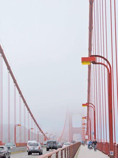 Lineal - rojo Golf Club Cityscape City Urban Skyline Modern Fog Architectural Column Steel Bridge - Man Made Structure Road Cable-stayed Bridge Suspension Bridge Elevated Road