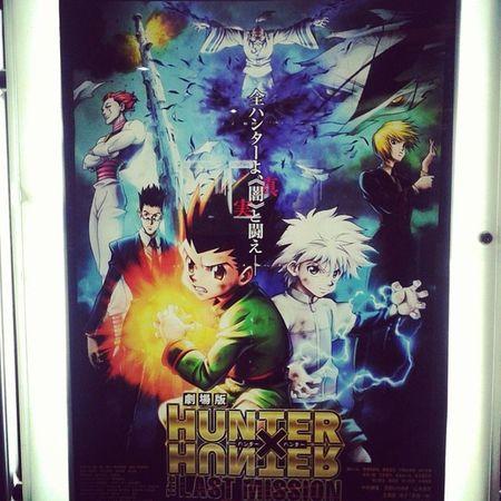 Coming soon in SM cinemas Hunterxhunter Gon Killua Leoreo kurapika