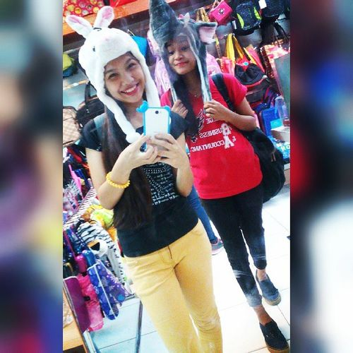 With this bruuuh 🐰🐘 Lateee😂