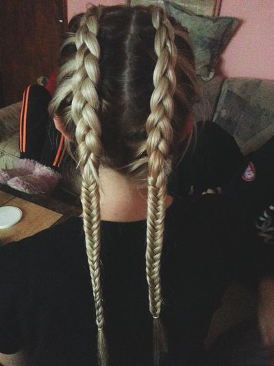 Blonde Hair Dutch Braid Fishtail Braid Ombre Ombre Hair Sarajevo