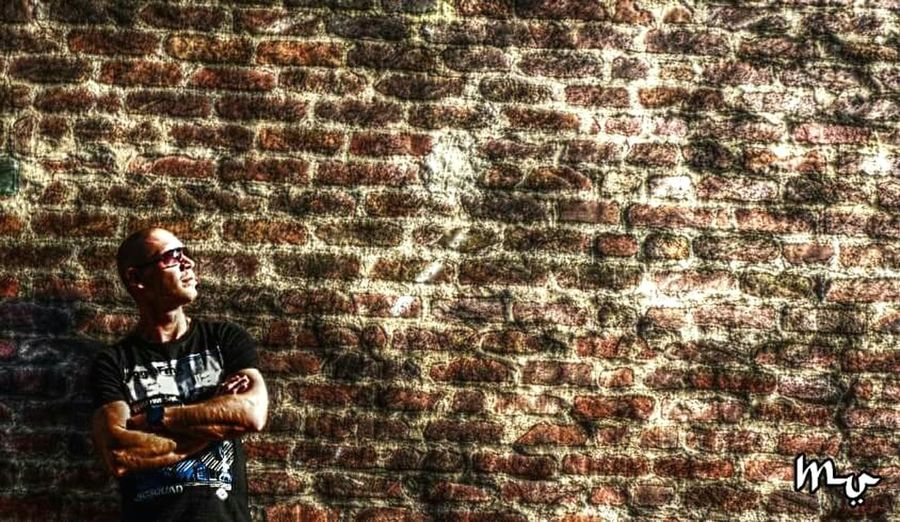 """""""Walled"""" - Omegatainment Ego Street Portrait HDR Photographic Art Urban Effects Wall"""