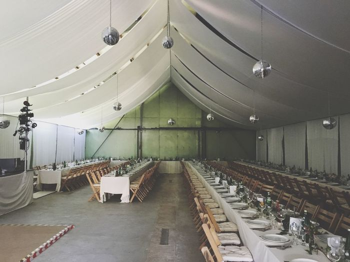 Party Festsaal Oktoberfest Tent Ceremony Empty No People Wedding Hochzeit