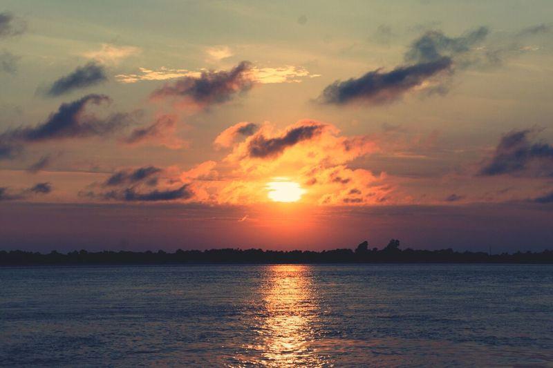 Sun Set Lifes A Beach Long Beach Island Jersey Shore