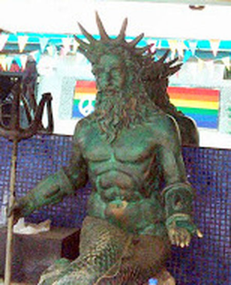 Bangkok Bangkok Thailand. Canute Close-up Day Indoors  Lgbt Neptune Nereus No People Poseidon Sea Deity Sea God Sea Lord Soi Twilight Spooky Trident